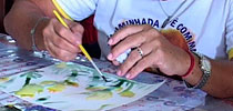 Gorse Flower Art Therapy